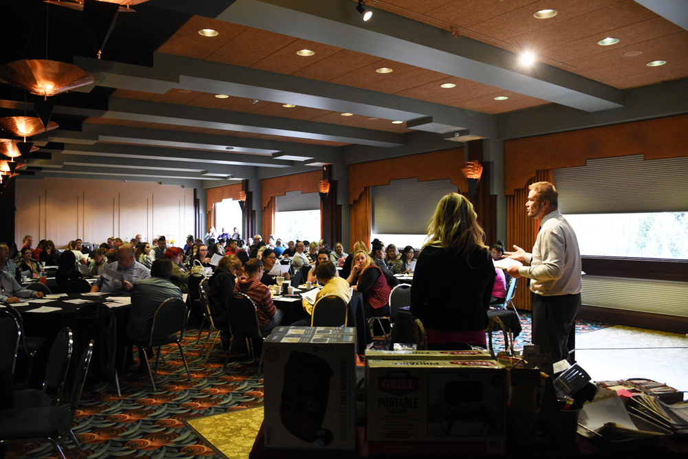 TTX held their spring 2019 all staff meeting